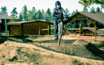 Worm's World pump track made its base area debut last weekend at Snow Summit.