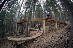Elevated wood features will give you a North Shore feel high in the southern Rockies.