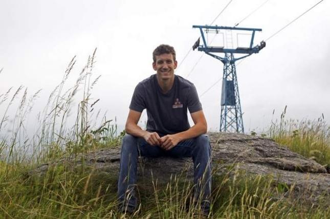 Christopher Herndon at Beech Mountain
