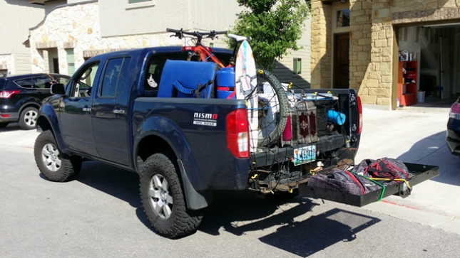 Jaymes Baassiri hit the road with his truck, his bike, an MTBparks Pass and not much else.