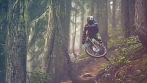 Fall laps at Whistler are known for being tacky and foggy.