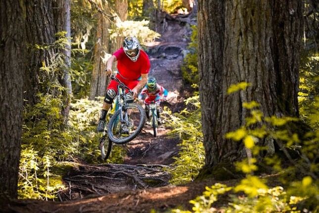 A lack of low-elevation snow has allowed the Whistler Mountain Bike Park to announce its second earliest opening on record.