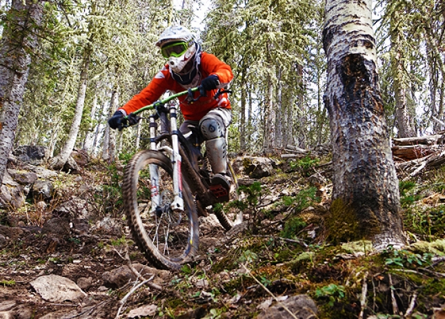 ANGEL FIRE BIKE PARK TRAILS: Upper Boogie - Expert