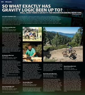 MtbParks | decline magazine's Jan/Feb Bike Park Feature is Online Now