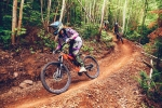 Beautiful dark dirt of Eastern Canada provides tacky trail conditions year-round at Sugarloaf.