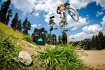 Snow Summit Bike Park opened to epic conditions after being delayed by late season snow.