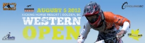 Western Open at Kicking Horse Fast Approaching