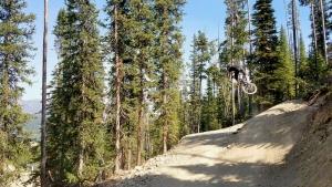 Ridiculously fun hip on Ninja Marmot at Big Sky Bike Park