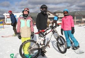 Mountain Biking Returns to Windham During December Drought