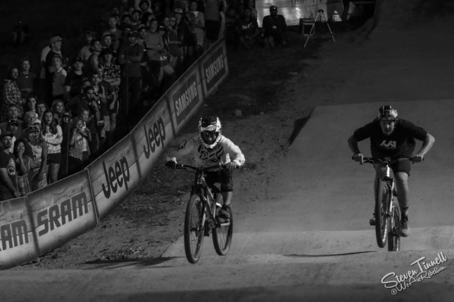 Pump track action heats up at Crankworx