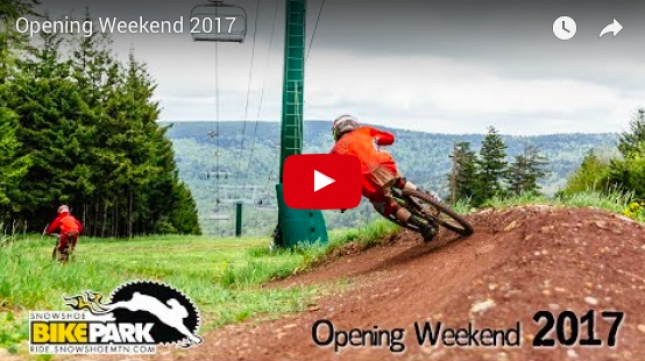 VIDEO: 'Opening Weekend 2017' - Snowshoe Bike Park