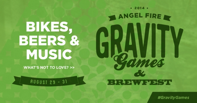 2014 Angel Fire Bike Park Gravity Games coming up this Labor Day Weekend