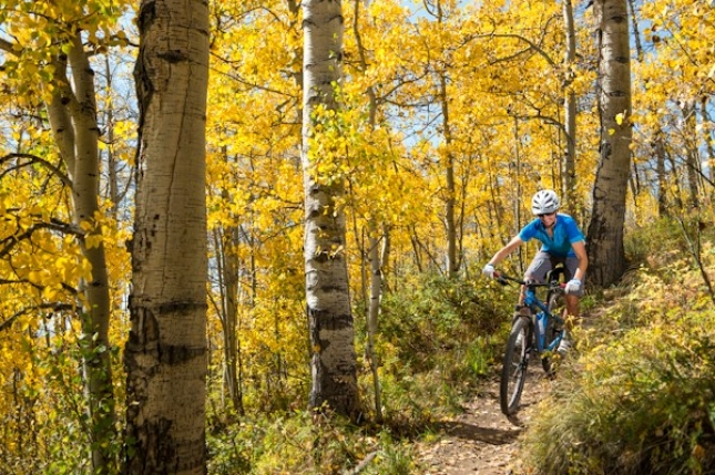 Fall Riding in Crested Butte