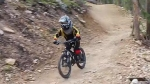 Video of 7 Year Old Shredder, In Honor of Take a Kid Mountain Biking Day