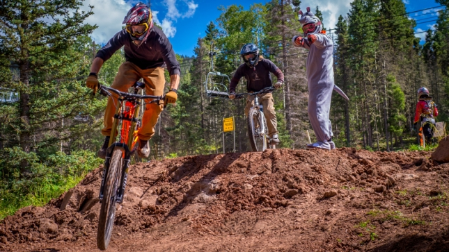 FIRST CHAIR ALERT: Angel Fire Bike Park Opens for 2016