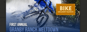 MELTDOWN IN THE ROCKY MOUNTAINS: Bike Granby Ranch Launches 1st Annual Snow DH Race