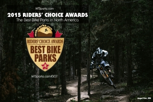 2015 RIDERS' CHOICE AWARDS: MTBparks Reveals North America's Best Bike Parks