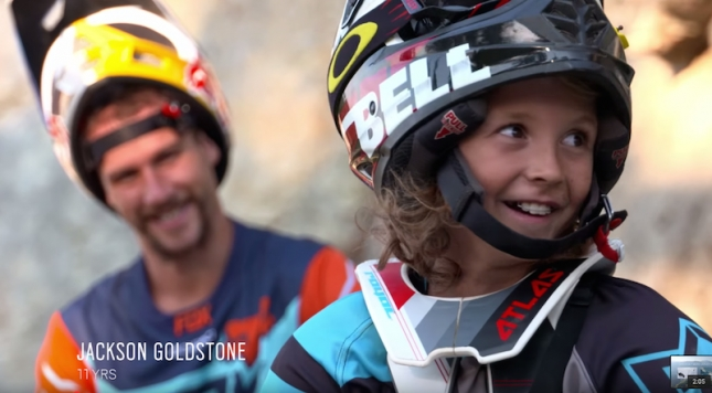 Jackson Goldstone and Steve Smith Share a Passion for Mountain Biking