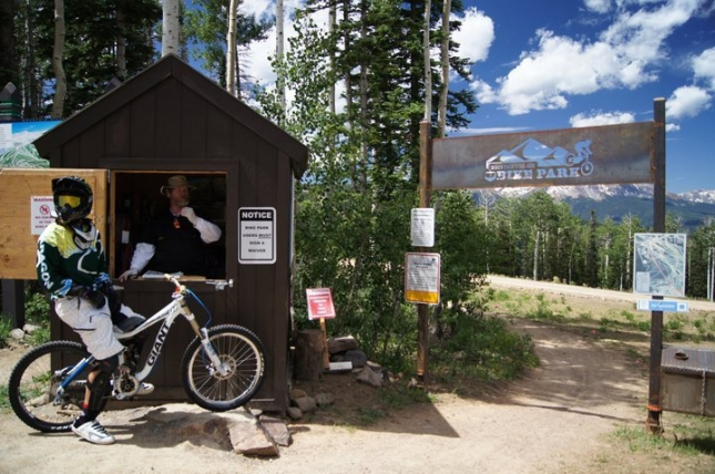 Mountain VIllage Bike Park @ Telluride might be the only free gondola-accessed bike park in the world.