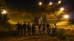 Skibowl Bike Park may well be the first to offer lift-served night riding.