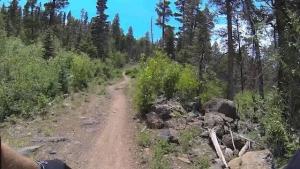 ANGEL FIRE BIKE PARK TRAILS: Enlightenment - Intermediate Uphill