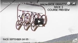VIDEO: Snowshoe Gravity Race Series #3 Course Preview