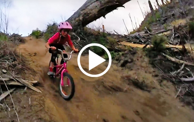 VIDEO: 10-Year-Old Girl Rocks Rotorua on Kids Bike