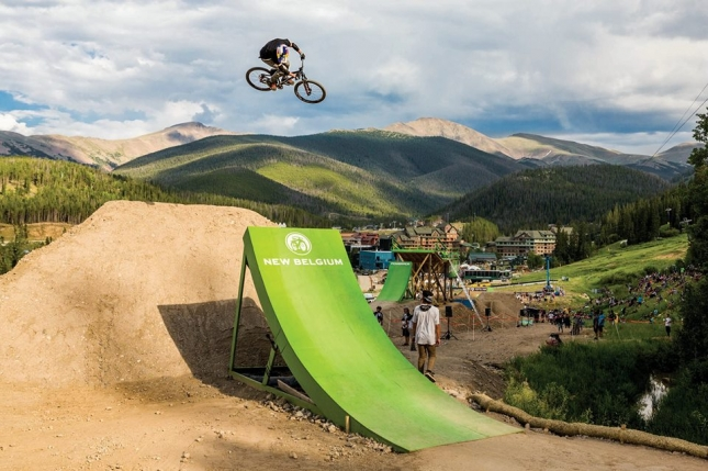 Slopestyle is a crowdpleaser at Colorado Freeride Festival.
