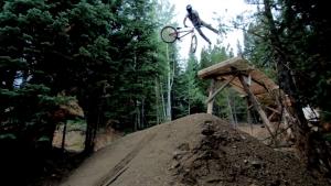 New Hot Wheels Slopestyle Trail at Trestle Bike Park