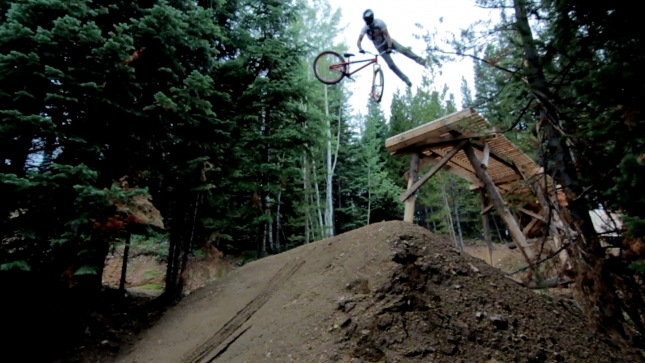 New Hot Wheels Slopestyle Trail at Trestle Bike Park