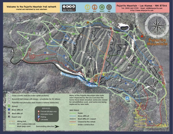 Summer 2013 trail map